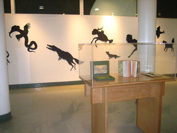 animal silhouettes and ant book